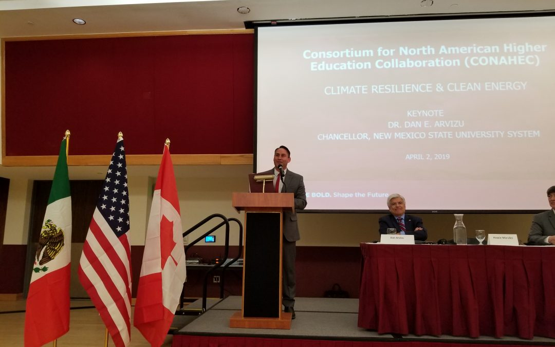 Lt. Governor Howie Morales Addresses CONAHEC Conference on Integration of US. Mexico & Canada Higher Education