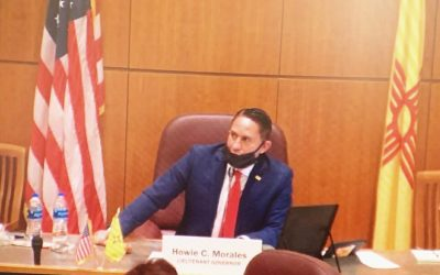 Lt. Governor Morales Praises Senate's Work for NM in 2020 Special Session Upon Sine Die Adjournment