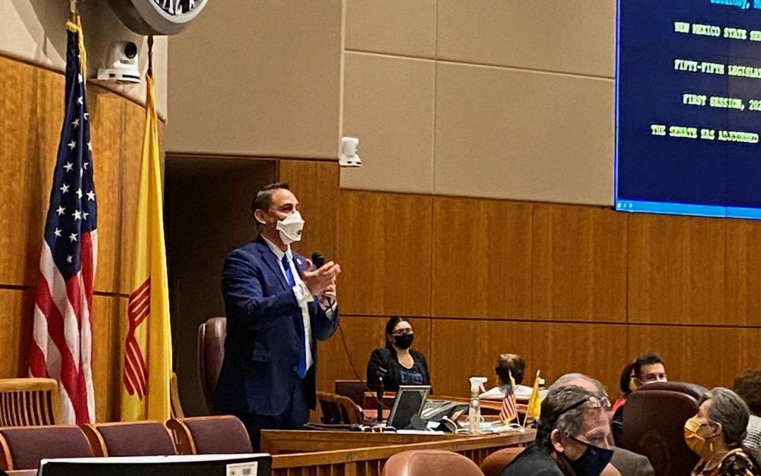 Lt. Governor Howie Morales Praises the 2021 Legislature's Accomplishments for People of New Mexico